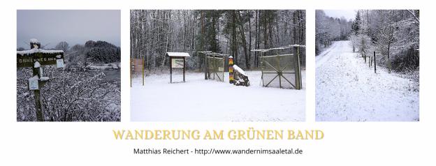 Wanderung am Grünen Band - Von Zimmerau nach Schwanfeld