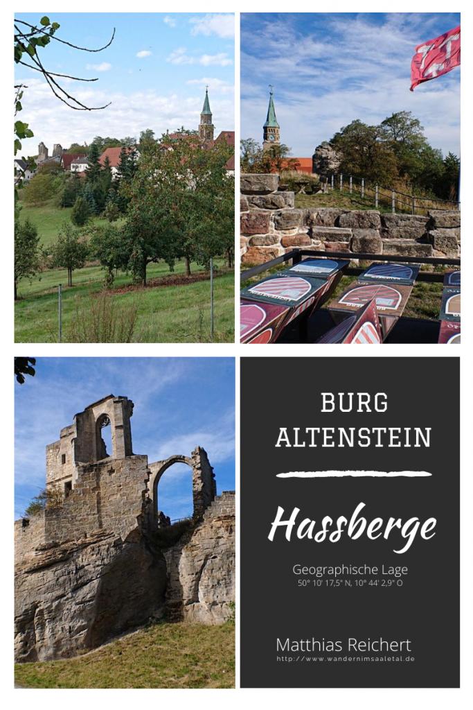 Ausflug zur Burg Altenstein in den Hassbergen.