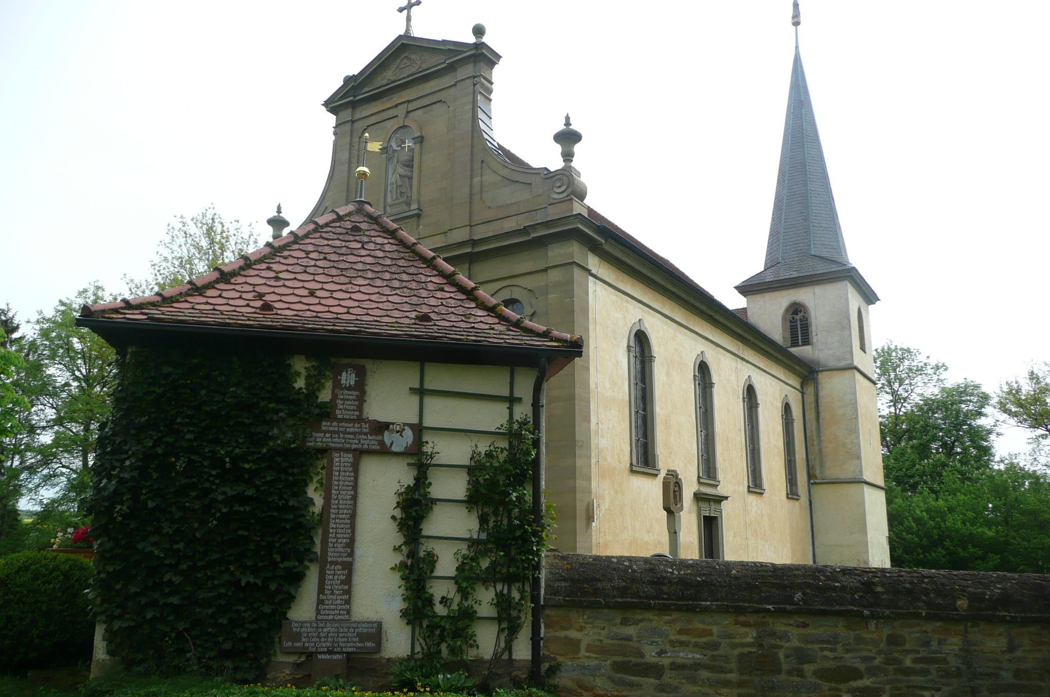 Von Saal a.d. Saale zur drei Flüsse Stadt nach Kleineibstadt