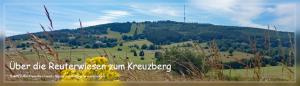 Über die Reuterwiesen zum Kreuzberg
