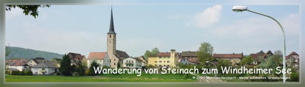 Wanderung von Steinach zum Windheimer See