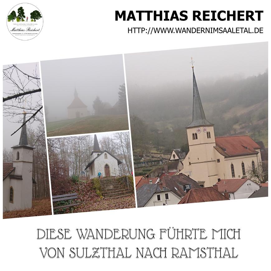 Wanderung auf dem Kapellenrundweg von Sulzthal nach Ramsthal