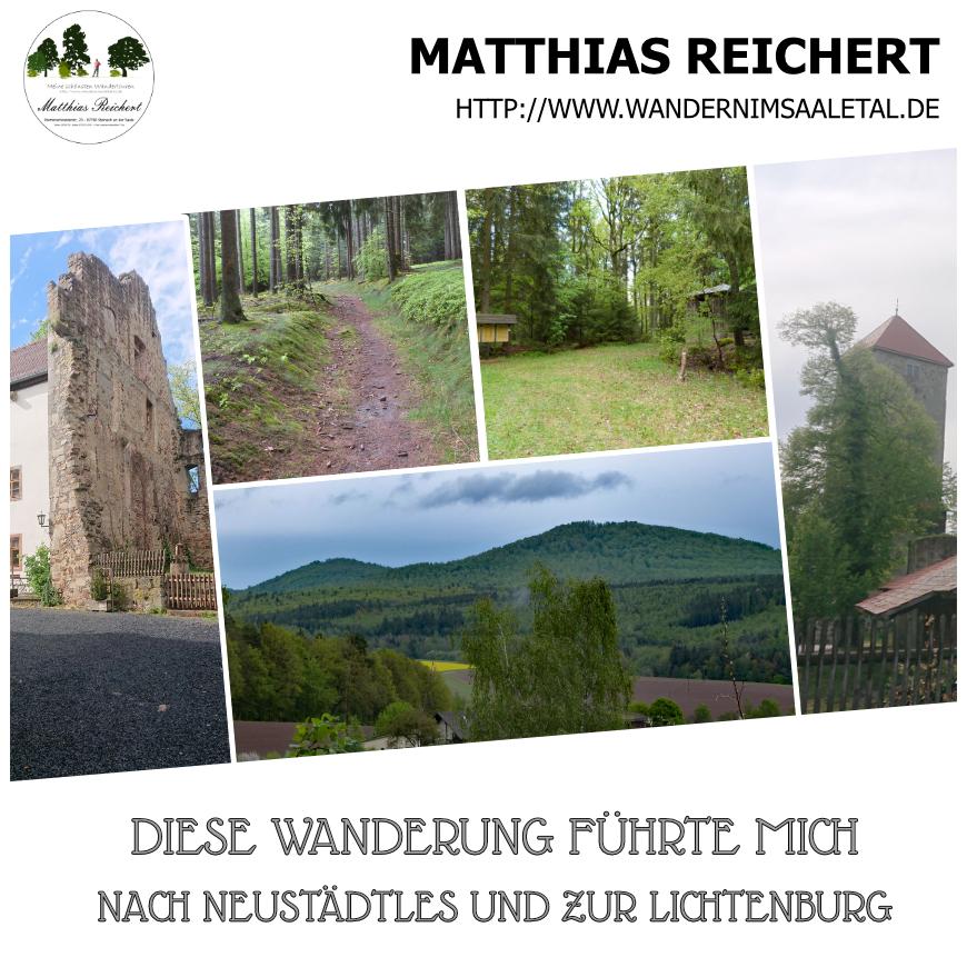 Wanderung auf dem Burgenpfad rund um Ostheim vor der Rhön