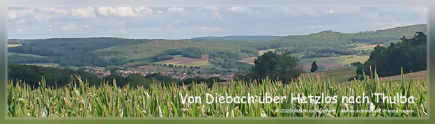 Wandervorschlag durch das Bäderland Rhön.