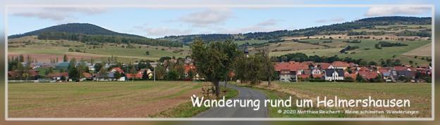 Wanderung am Grünen Band bei Helmershausen