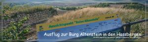 Ausflug zur Burg Altenstein in den Hassbergen