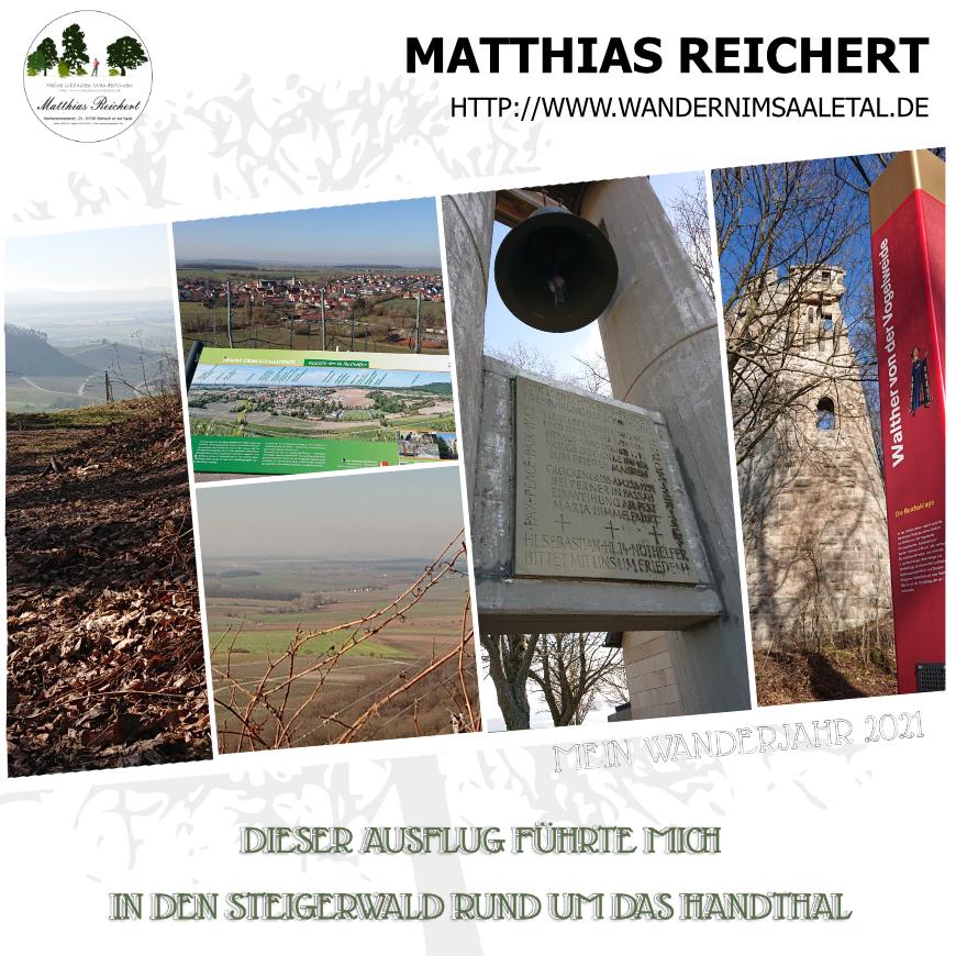 Wanderung im Handthal zur Ruine Stollburg.