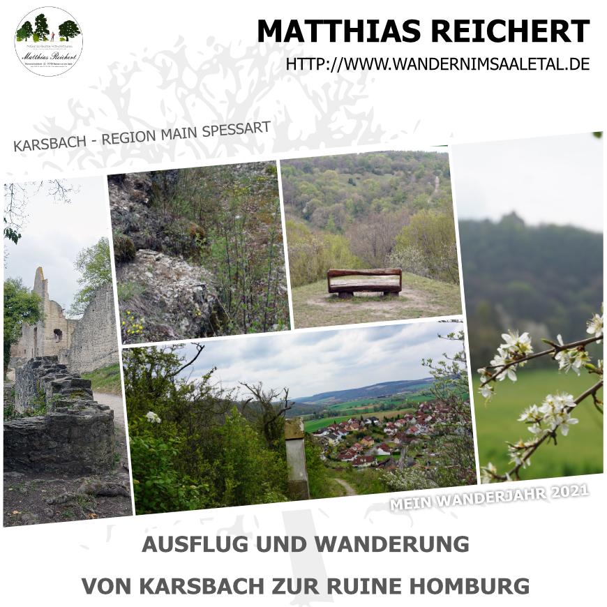 Wanderung von Karsbach zur Ruine Homburgg