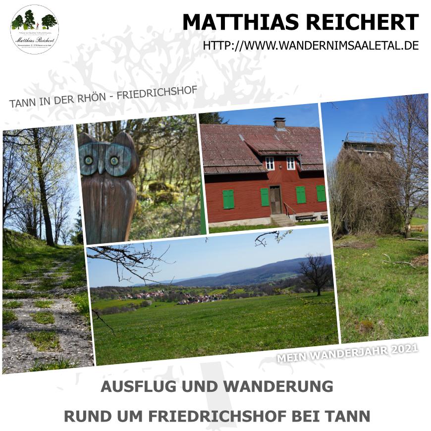 Wanderung um den Friedrichshof bei Tann