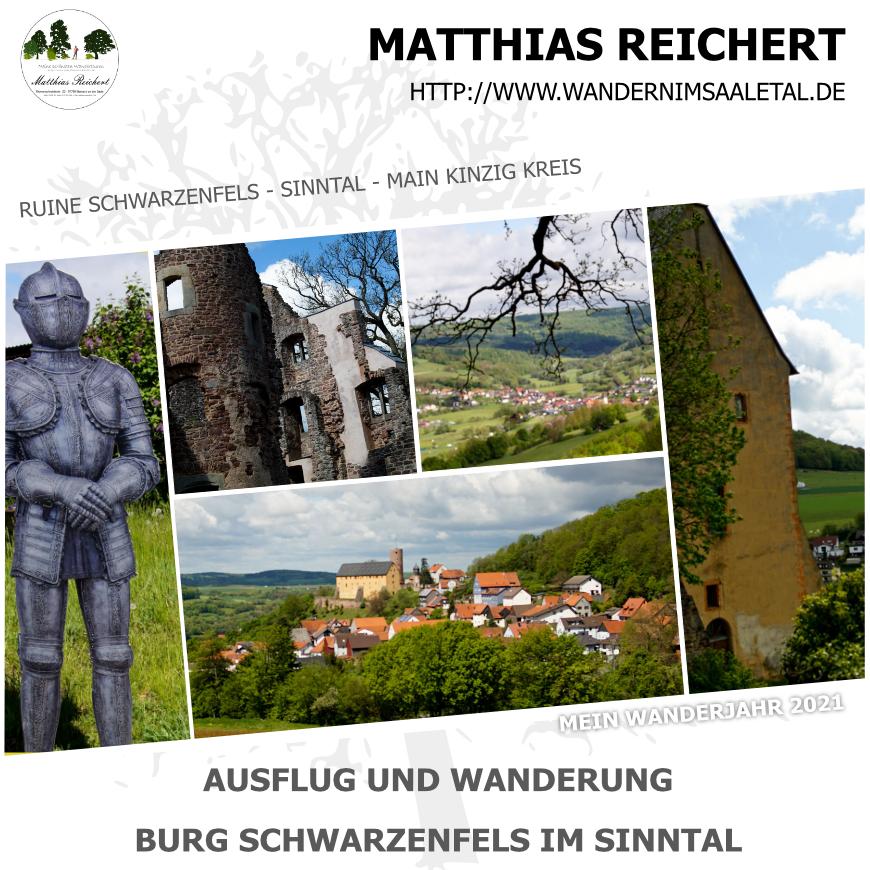 Wanderung und Ausflug zur Burg Schwarzenfels