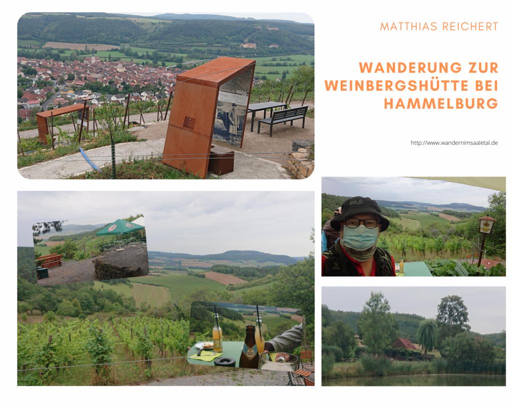 Wanderung zur Weinbergshütte bei Hammelburg