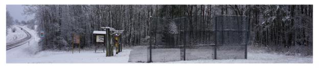 Wanderung am Grünen Band - Grenzdenkmal bei Zimmerau