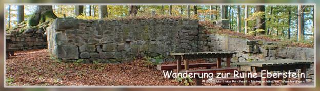 Wanderung zur Ruine Ebersteinn