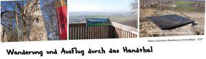 Wanderung durch das Handthal zur Ruine Stollburg